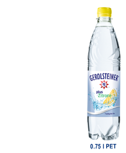 Gerolsteiner Plus Citron